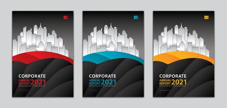 Corporate cover design template Can be adapt to annual report, presentation, Portfolio, business brochure flyer, book cover, poster, banner, website. abstract background. a4 size Standard-Bild - 146938181