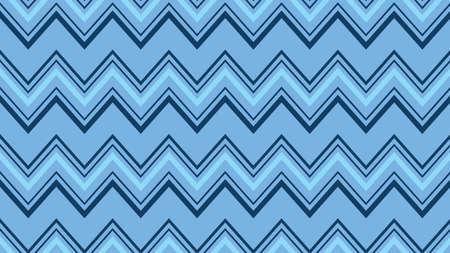 Blue abstract Background Zigzag shape, seamless pattern, minimal design, fabric texture,  hipster fashion design, vector illustration Illustration
