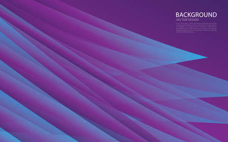 Purple abstract background vector creative design, Web background, banner, cover template, wave abstract background, texture design, Minimal geometric pattern gradients, Brochure background