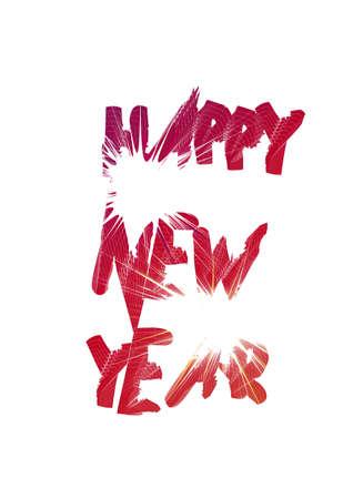 Happy New Year - Illustration illustration