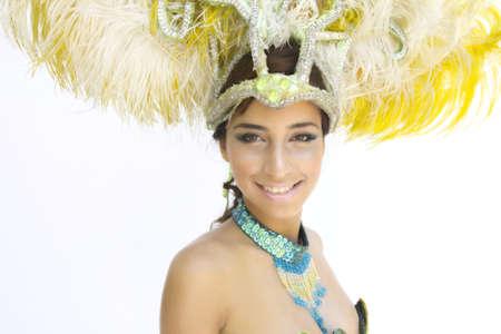 exotic dancer: latin brazilian Samba brazil carnaval rio de janeiro sexy girls dance joy show