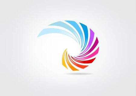 swirl business corporate  icon
