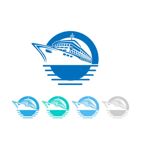 ferry boat: cruise logo