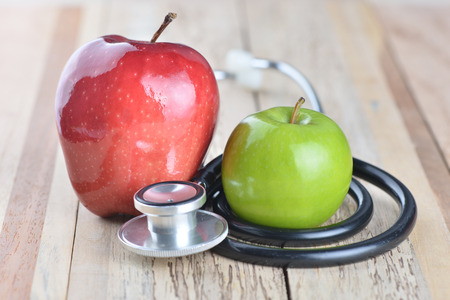 Concept for diet, healthcare, nutrition or medical insurance