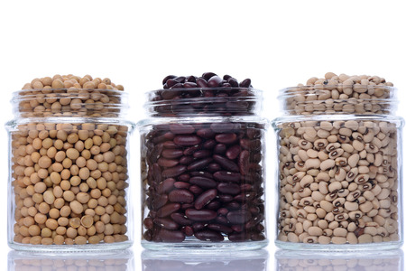 group of bean Stock Photo
