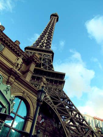 Eiffel Tower Las Vagas  Editorial