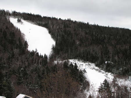 hampshire: Loon Mountain en Nueva Hampshire Foto de archivo