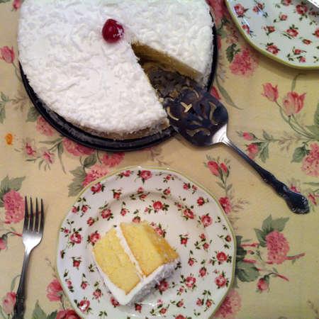 Coconut cake 版權商用圖片 - 28221221