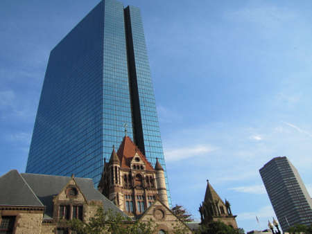 hancock building: John Hancock town in Boston