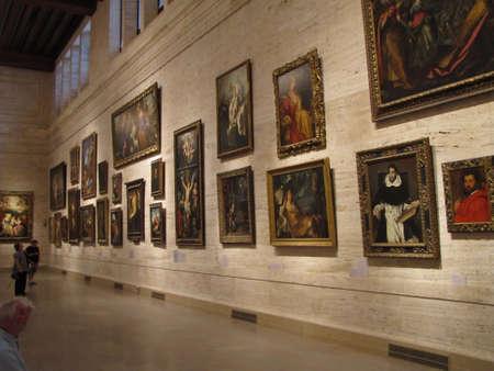 l'intérieur de Boston Musée des Beaux-Arts