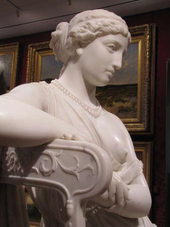 inside Boston Museum of Fine Arts - American art