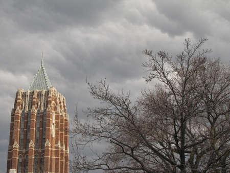Yale University Campus Gothic Building