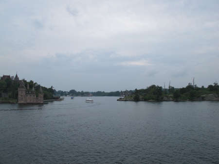 thousand: Thousand Islands on Saint Lawrence River. NY June 2010