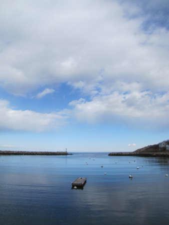 floating dock at Cape Ann Harbor in Rockport, Massachusetts