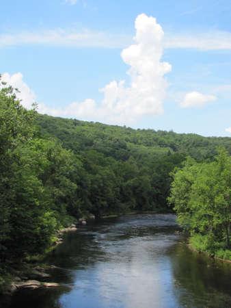Farmington River in Connecticut
