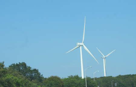 modern Energy Producing Windmills