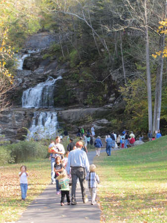 Kent Falls State Park in Connecticut