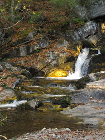 Kent Falls state park in Connecticut, United States of America