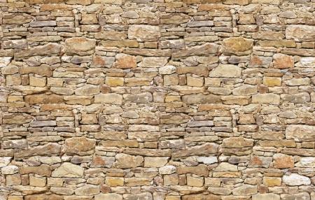 Stone wall rustic texture seamless background Foto de archivo