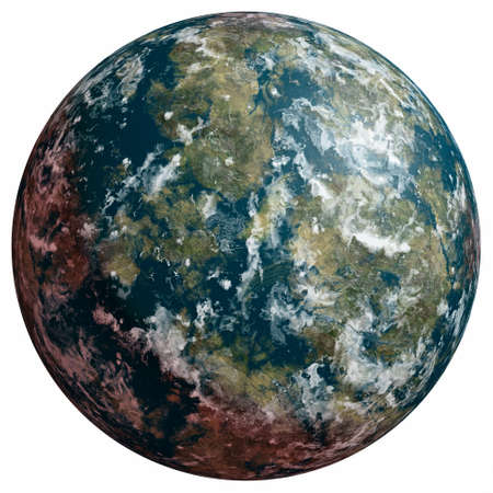 spacial: Fictional celestial sphere with a very similar atmosphere to Earth