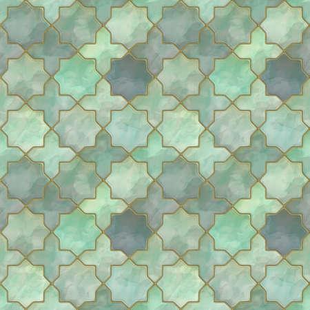 진흙 같은 8 개의 별 모양의 빌딩 블록의 외관