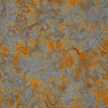 Square piece rusty structure in various color. Seamless texture.