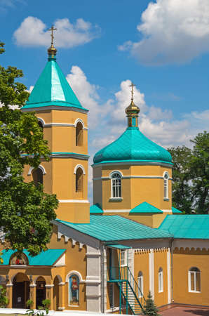 sotana: Orthodox Holy Tikhvin Monastery womens in early summer.