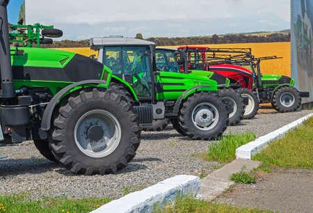 photo de la machine à l & # 39 ; agriculture agricole agricole de machines agricoles Banque d'images