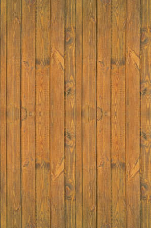 Pine boards treated with wood stain to protect against external influences and wood beetle pests. Seamless texture