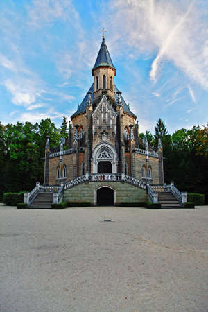 Gothic revival architecture style