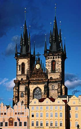 Tyn cathedral, Prague, Czech republic  Stock Photo - 12035044