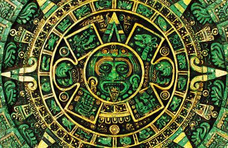 Calendario maya Foto de archivo - 12176854