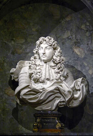 Bust of king Louis XIV