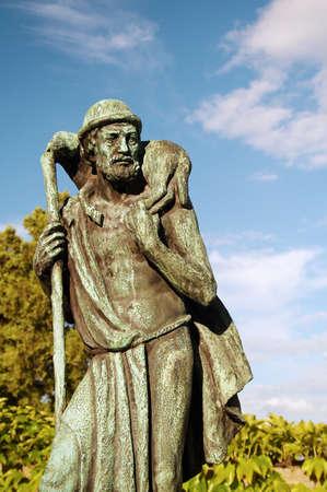 Good shepherd statue, Prague