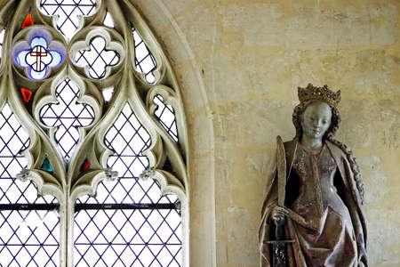 French gothic interior detail Stock Photo - 13253570