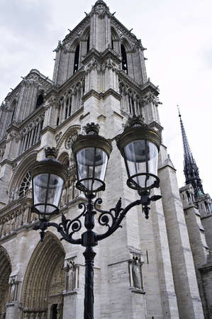 Nothre-Dame cathedral Paris, France