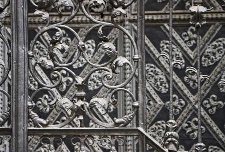 architectonic: De historische architectonische details uit Praag