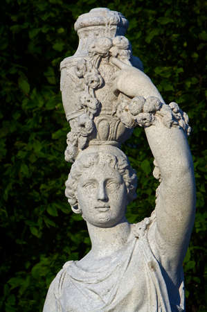 The detail of antique statue, Vienna, Schonbrunn garden Stock Photo - 13891913