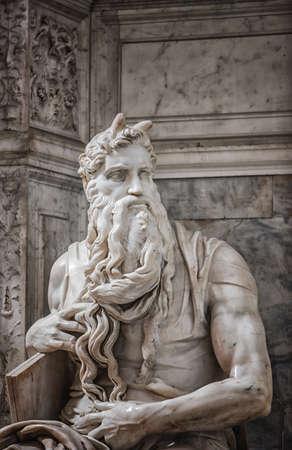 vincoli: Moses in San Pietro in Vincoli church in Rome