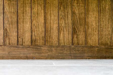 old wood floor: Wood background brown old vertical and floor