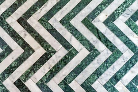 fabric textures: granite zigzag background and textures Stock Photo