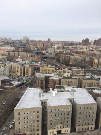 Bronx Sky View Stock Photo