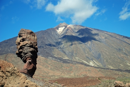 The famous teide of tenerife Stock Photo