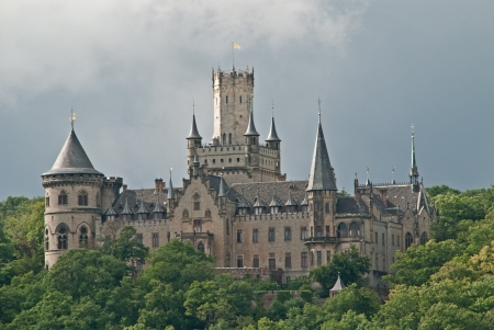 The Castle Marienburg in germany Editorial