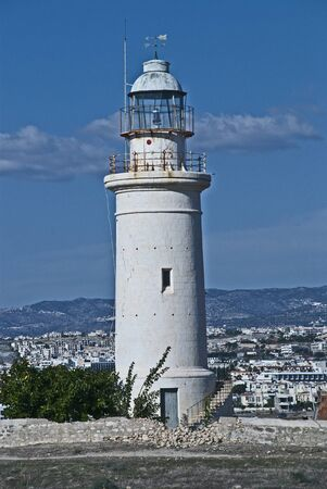 shurb: The iconic lighthouse of Paphos