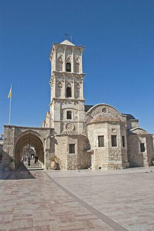 lazarus: Saint Lazarus in the city of Larnaca Editorial