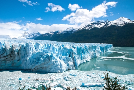 Perito Moreno Glacier in Argentina photo