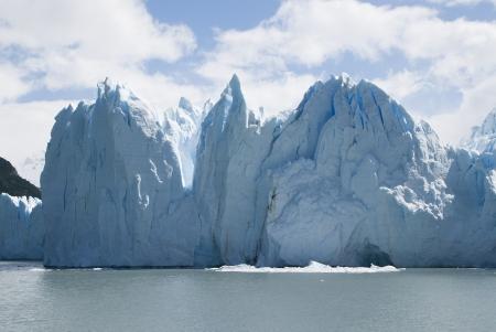 perito: Perito Moreno Glacier in Argentina Stock Photo