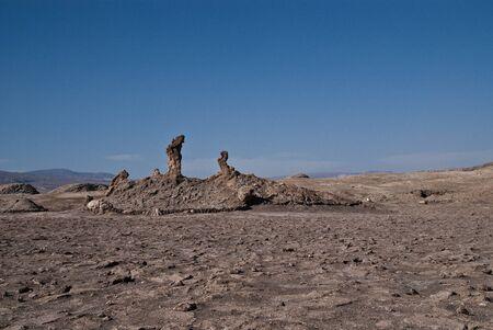 Moon Valley in Atacama desert photo
