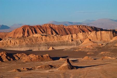Valle del la Luna in atacama desert photo